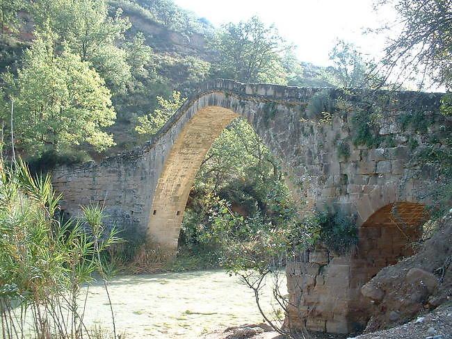 Puente l'albarda Alquezar