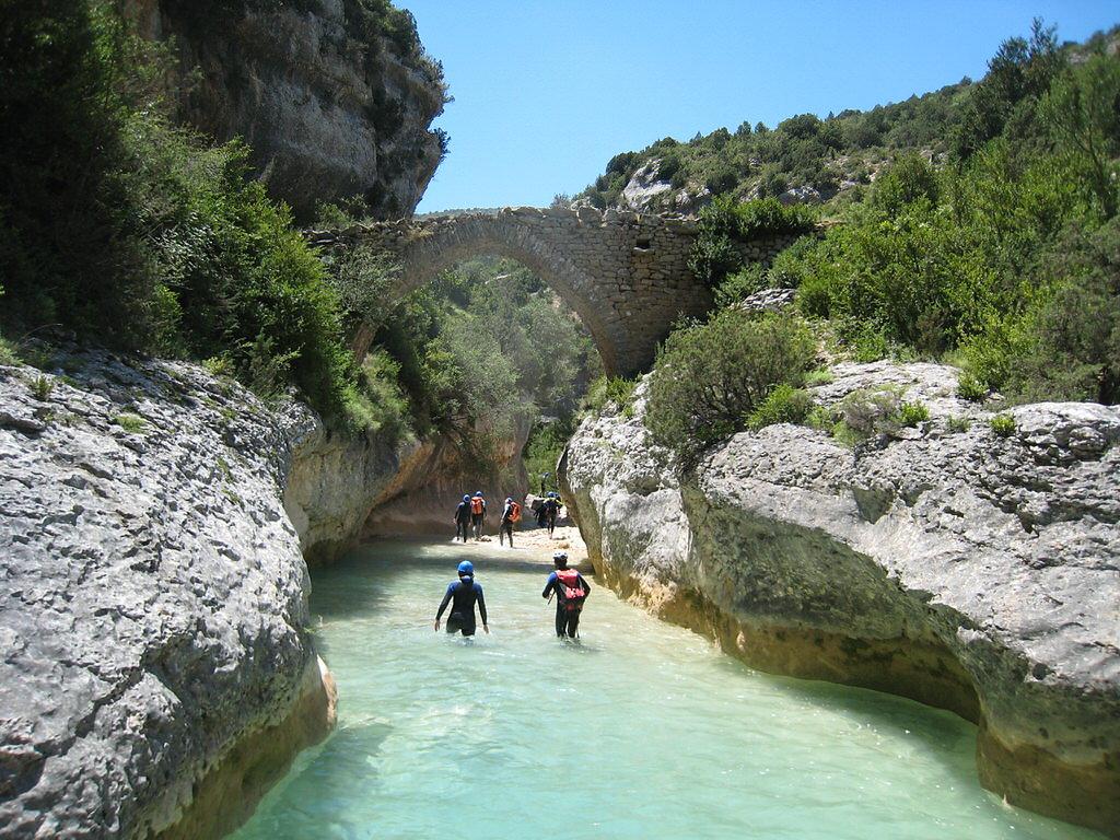 balade dans les canyons en sierra de guara