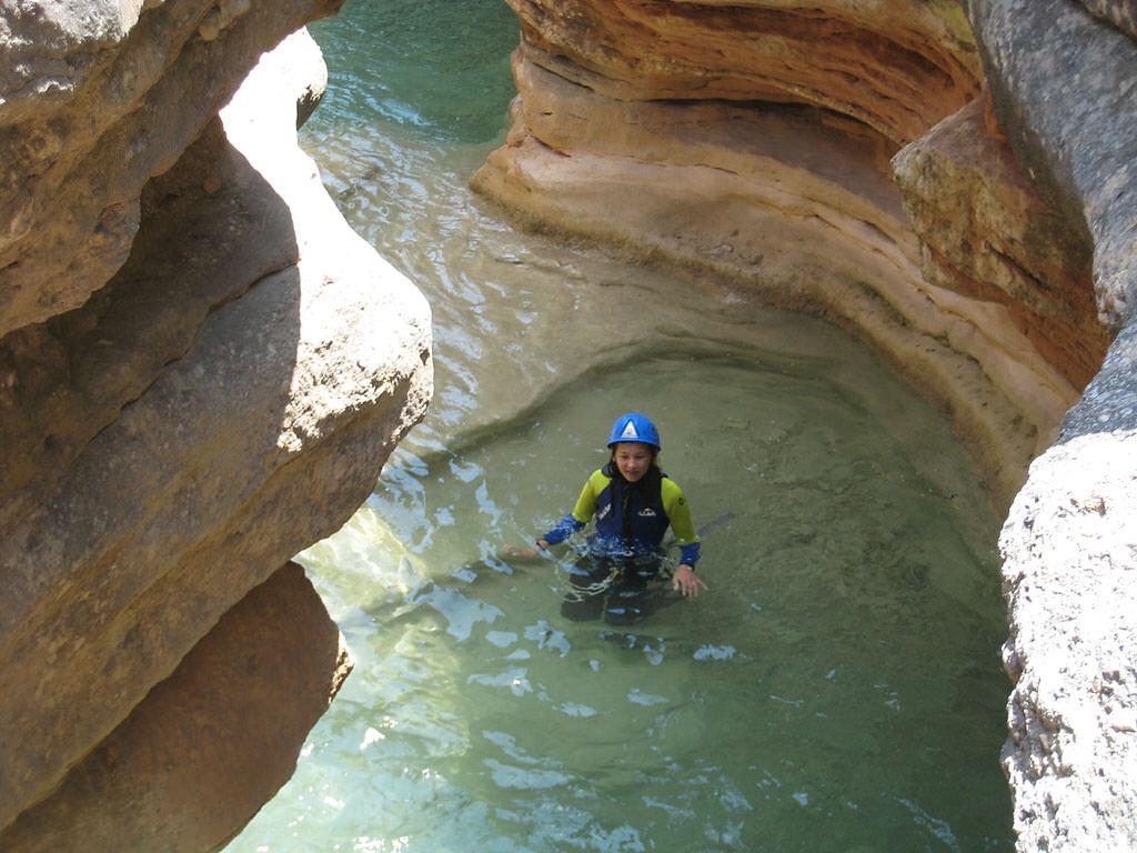 le décor grandiose des canyons de la sierra de guara