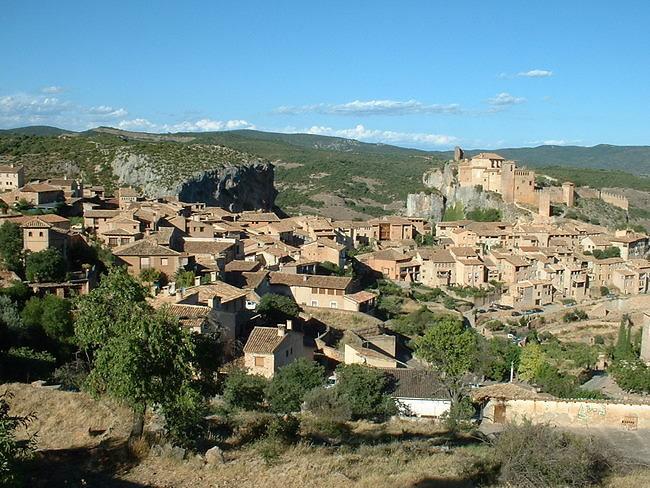 vue du village d'Alquezar