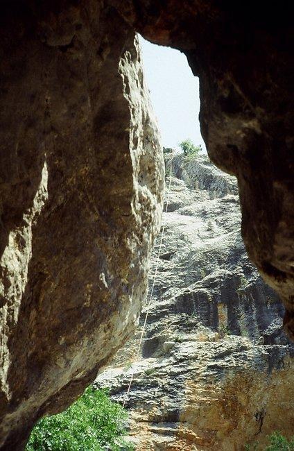 escalade et rappeln sierra de guara
