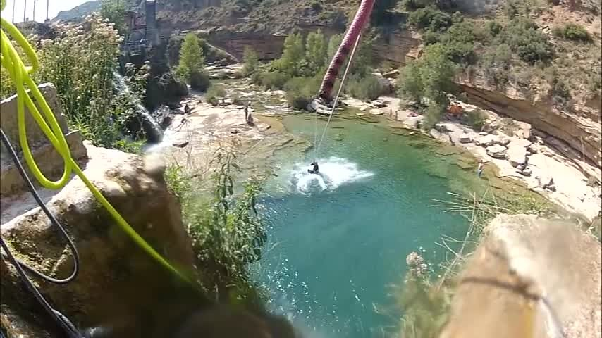 Sortie en canyon en Sierra de Guara